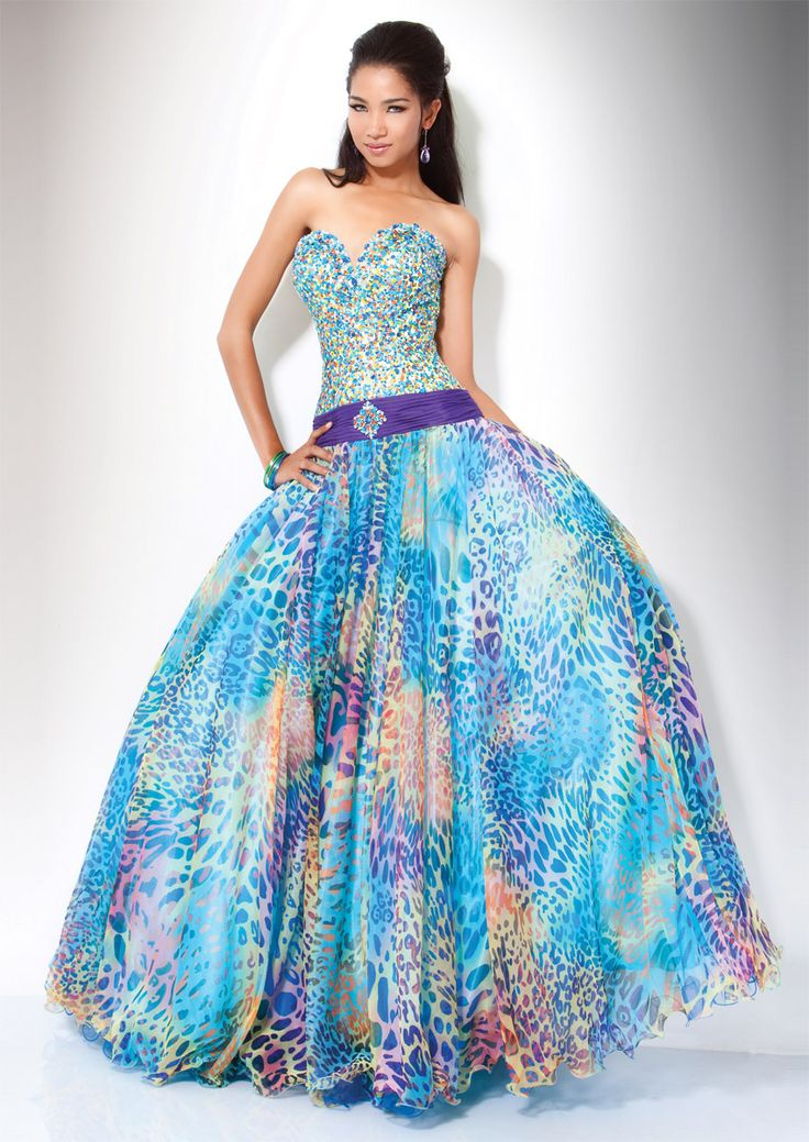 colorful prom dresses - Dress Yp