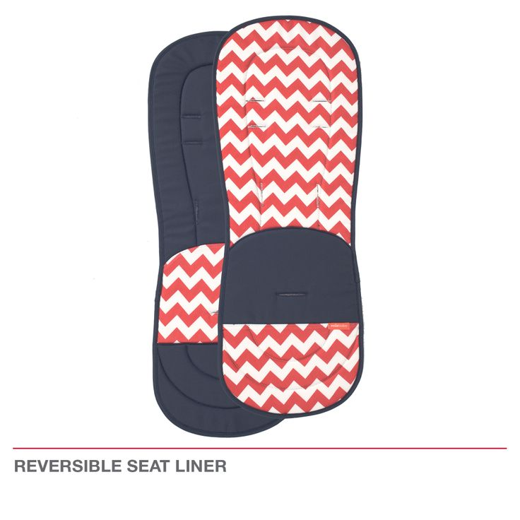 Redsbaby Bounce - The Utlimate All-In-One Stroller/ Pram www.redsbaby.com.au What a great idea - reversible seat liner so you can switch either way depending on your mood :)