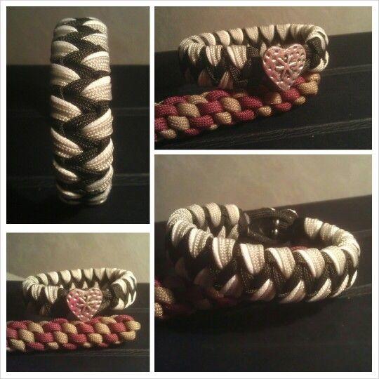 Tiger pattern Cobra Fusion #paracord #bracelet