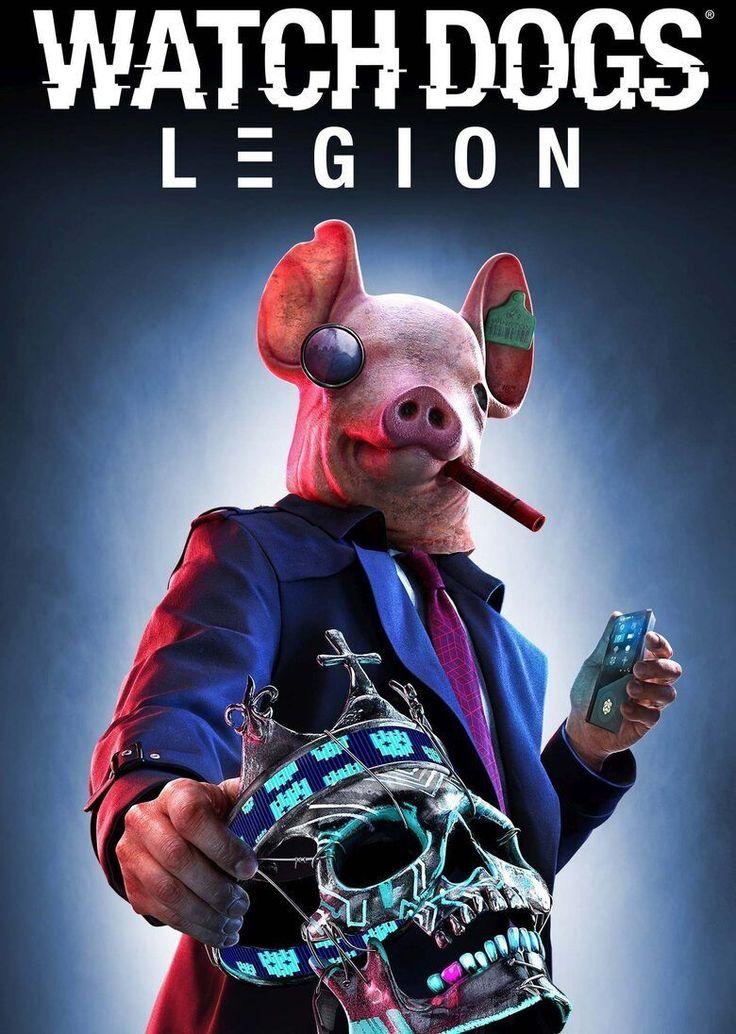 PREORDER Watch Dogs Legion Uplay Key (EU) Digital