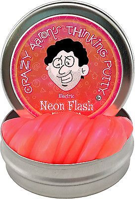 Crazy Aarons Thinking Putty Super Illusions Assorted Colours Small ...