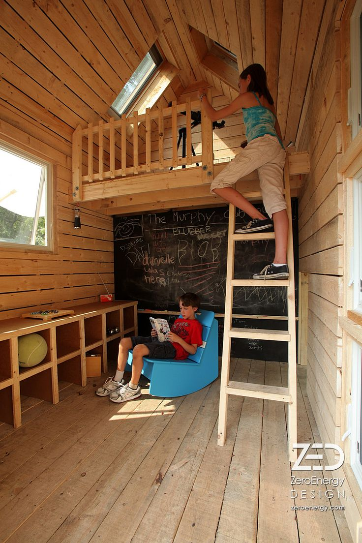 Green esCAPE Playhouse-Cape Cod, MA.Crank lights and a crank radio use kid power to operate. The blue racer rocker, made of recycled milk bottles, offers fun yet durable seating. . Zeroenergy.com