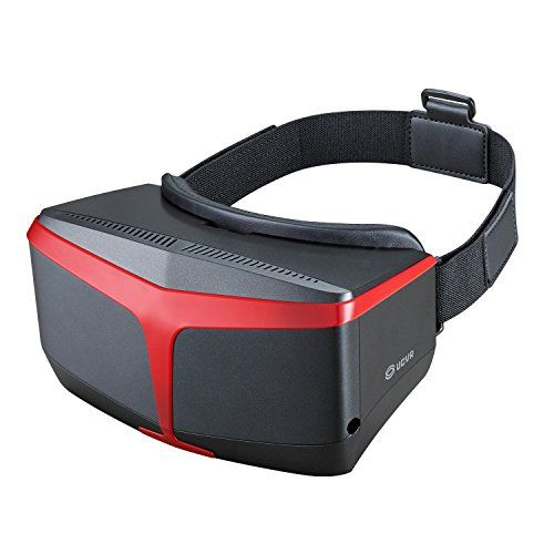 awesome UCVR 3D VR Headset Virtual Reality Goggles, Fresnel Optical Lenses VR Box,VR Glasses for 3D Moives and Games