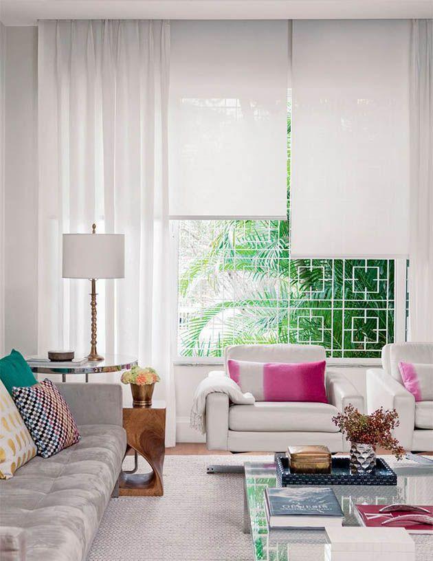 tecidos pra decorar a sua casa, dicas para escolher cortinas e tapetes