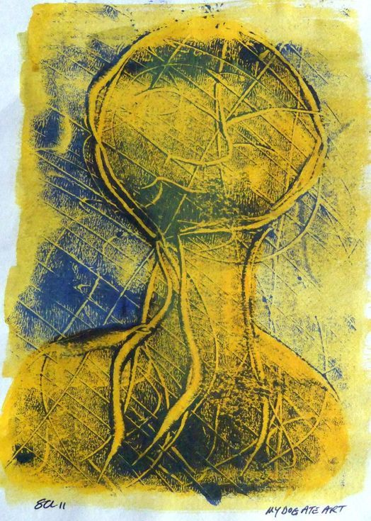 Buy Veined, Monoprint by Steve Clement-Large on Artfinder. Discover thousands of other original paintings, prints, sculptures and photography from independent artists.