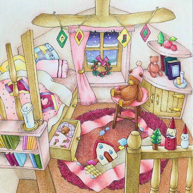 わたしには珍しいピンクメインのお部屋にしてみました たのしい〜! * 黒背景に挑戦してみたいのですが、オススメの画材ってありますか? ポスカ?筆ペン??…