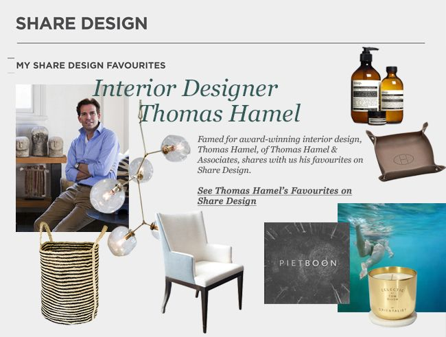 Share Feature | Thomas Hamel Shares His Favourites