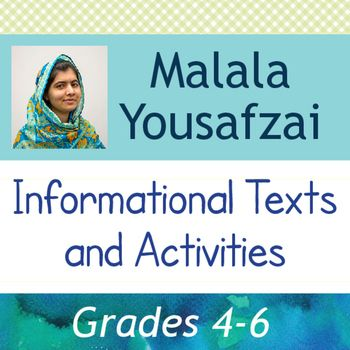 Malala Yousafzai: Informational Texts, Activities begins with a pre-reading activity regarding activism.  Many students may not be familiar with the meaning of the word are even how activism relates to many historical figures they might have already studied (such as Martin Luther King, Jr.).