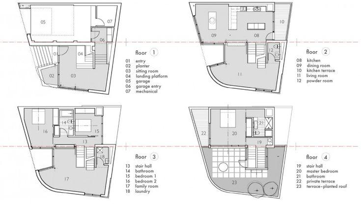 Shape irregular elevator google search floor plan for Irregular house plans