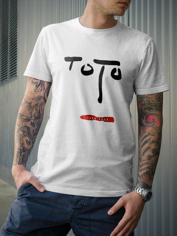 Toto Band Turn Back Album Music TShirt by 21street on Etsy, $16.99