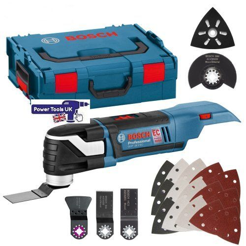 GOP18V-ECNCG Multi Cutters supplied in a Bosch L-Boxx from Power Tools UK
