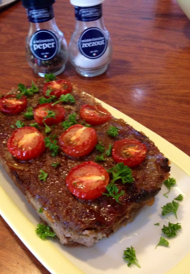 """Flavourful and easy """"Arabic"""" Meatloaf"""