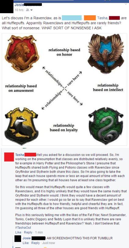 Lyrics-Are-Poetry Hogwarts house relationships