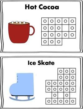 Winter Snap Cube Activity {FREEBIE}