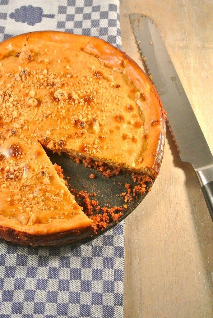 Speculaas cheesecake - Lekker en Simpel