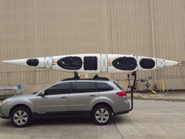Hauling a VERY LARGE/LONG Sea Kayak!!! - Subaru Outback - Subaru Outback Forums