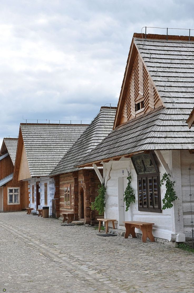 open-air museum in Sanok, Poland