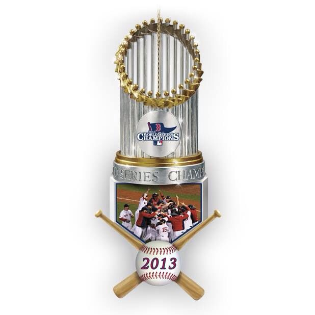 Boston Red Sox World Series Trophy!