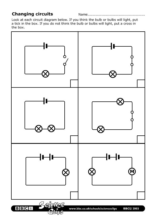 Worksheet Physical Science Simple Circuits - worksheet physical ...
