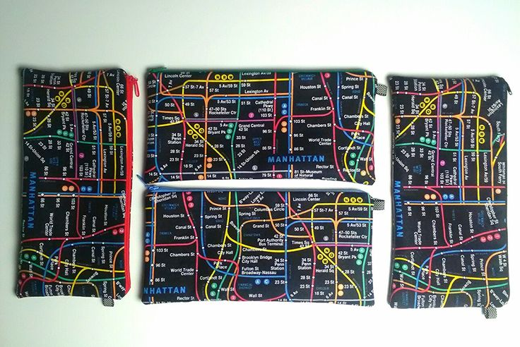 Subway-pouches 04/17