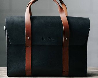 Leder Aktentasche Herren, Leder Messenger Bag, Herren Aktentasche, Laptop Aktentasche, Messenger Bag, Laptop-Tasche, Abendtasche