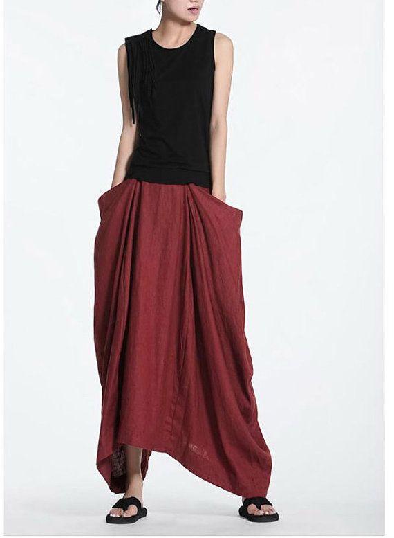 KL010S I knew you are in trouble/Womens Clothing Womens Skirt Casual Skirt Pleated Skirt Plus Size Skirt Black Skirt Ankle Length Skirt