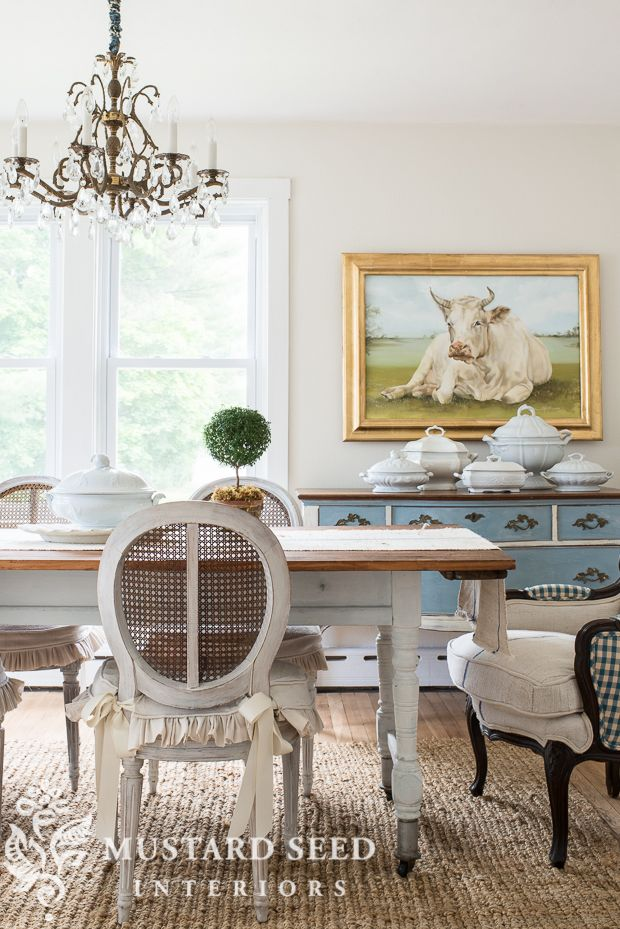 Miss Mustard Seed | Home Styling Tips. Beautiful Dining RoomsRiver ... Part 29