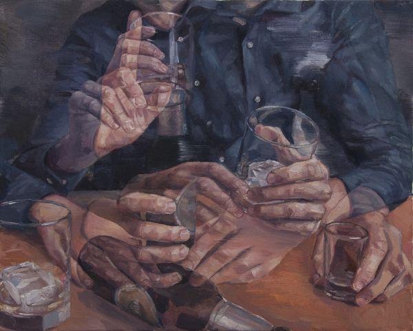 Adam Lupton presenta una serie de pinturas al óleo en las que la incertidumbre y las posibilidades son infinitas, y el espectador es cuestionado.
