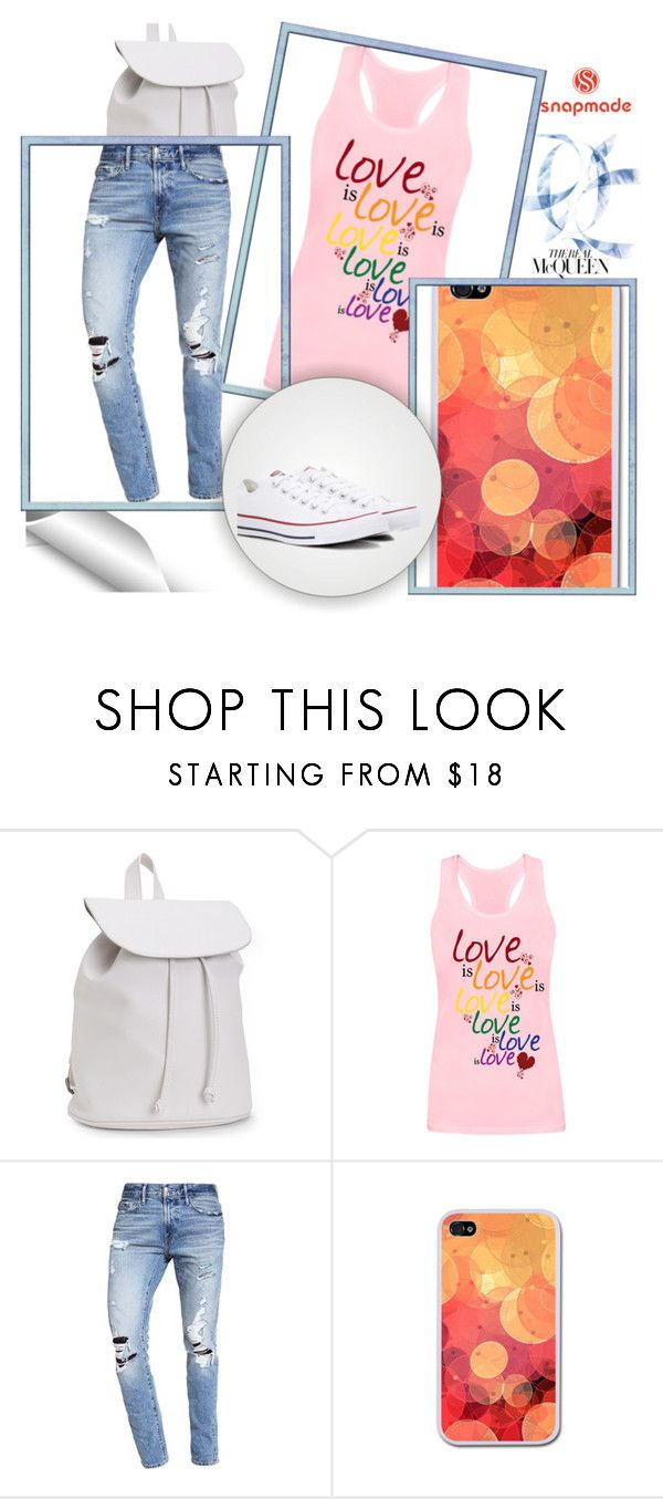"""""""SNAPMADE 1/10"""" by anidahadzic ❤ liked on Polyvore featuring Aéropostale, Abercrombie & Fitch, Converse and snapmade"""