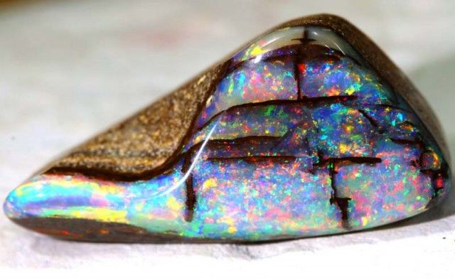24.20 CTS OPALISED BOULDER OPAL POLISHED STONE CTS INV-314