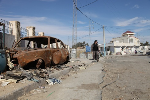 on the way to the next shooting loaction for the postapocalyptic sci-fi guerilla film Nostromo in Tunisia