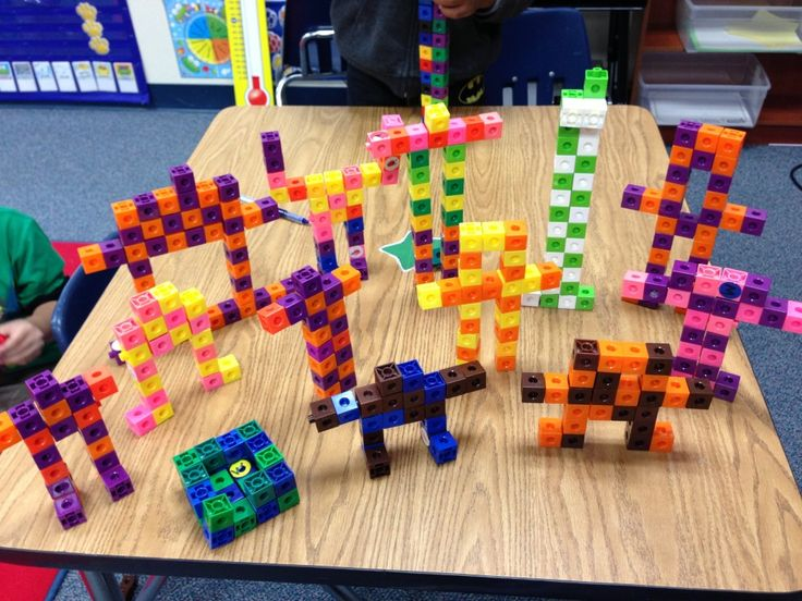 Pattern Robots- Fun and creative way to practice making patterns. Favorite in my room!