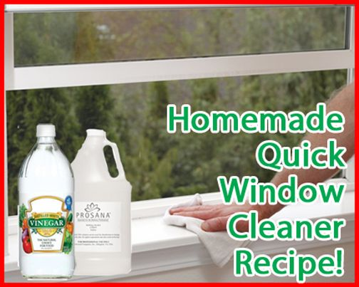 How To Make Homemade Natural Window Cleaner  -- http://naturehacks.com/house-and-home/how-to-make-homemade-natural-window-cleaner/
