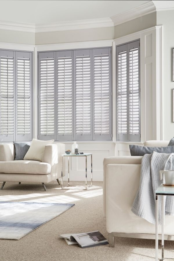 Tonal greys and light creams make a lovely modern neutral decor, mix different textures and effects to pull the look together. Our House Beautiful Shutters range are a perfect addition to the theme. The collection takes its inspiration from the shifting skyscape, with ten exclusive colours in soft pastel shades. hillarys.co.uk