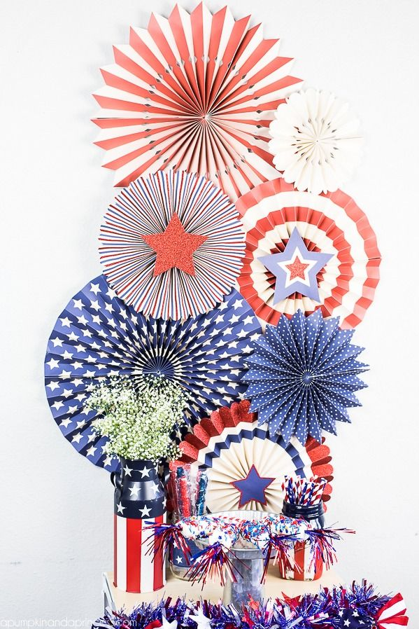 Red, White And Blue Patriotic Party Ideas   Easy Treats And Party Decor!  MichaelsMakers