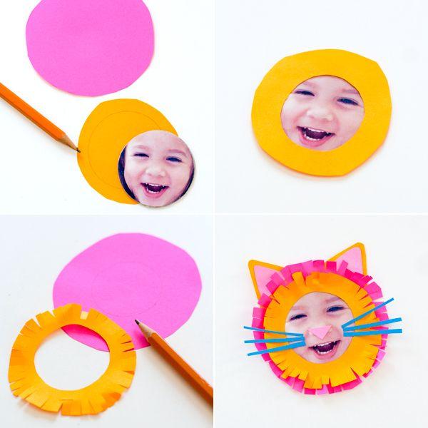 DIY Kid Animal Face