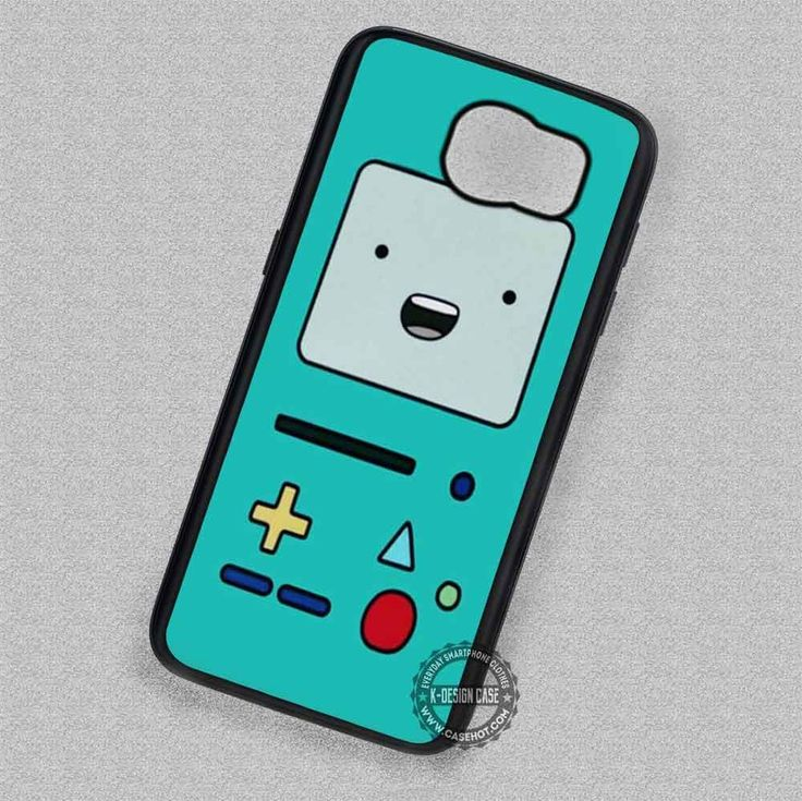 Game Cartoon Adventure Time Beemo - Samsung Galaxy S7 S6 S5 Note 7 Cases & Covers