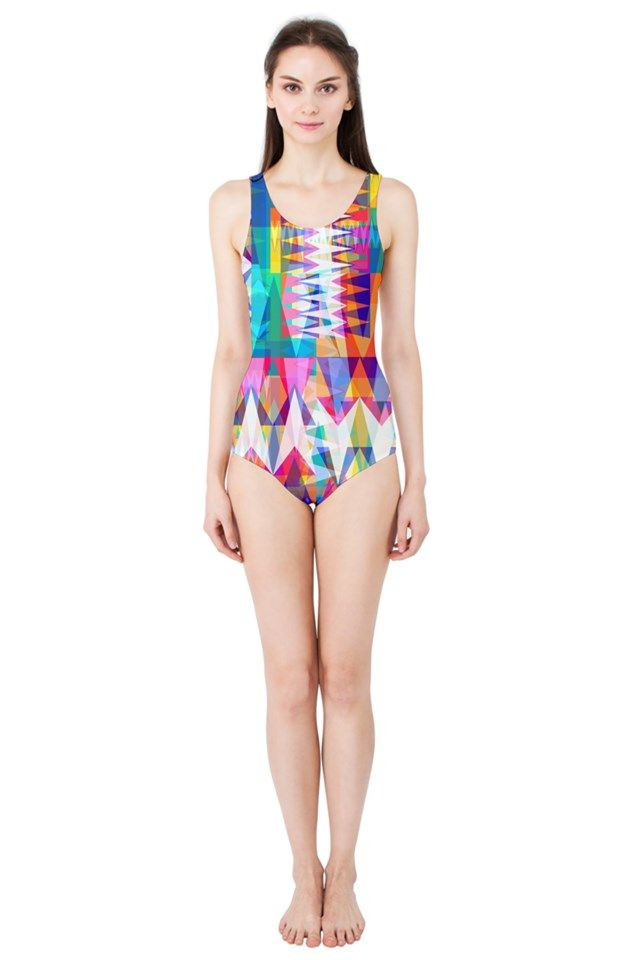 Triangle Collage_MirandaMol Women's One Piece Swimsuit  #pinkcess #mirandamol #fashion #cool #beachwear #swimsuit #beach #summer #pinkcess #pinkcessfashion #pnkx
