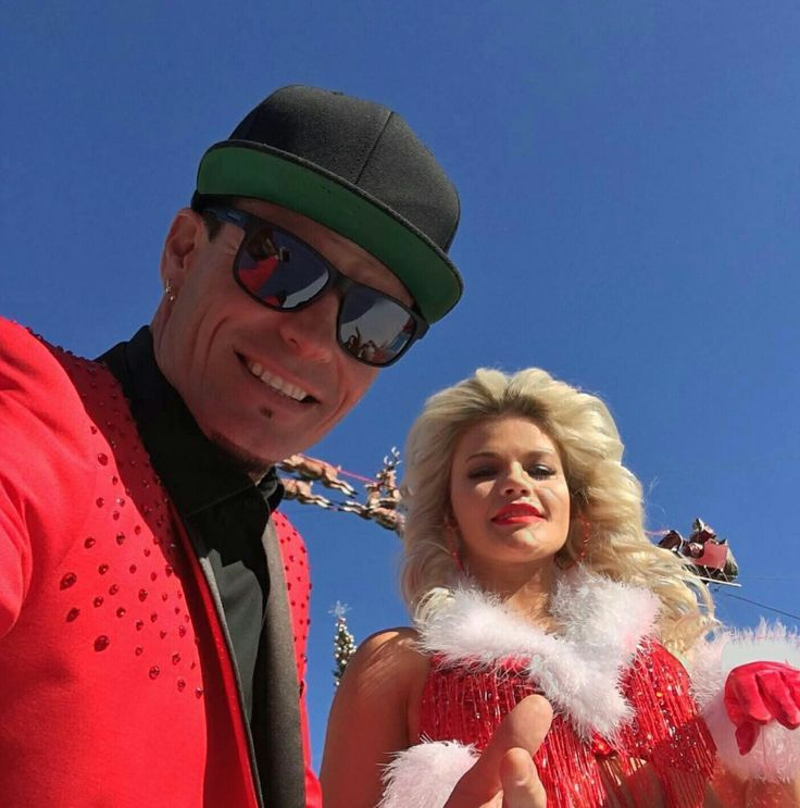 Vanilla Ice and Witney DWTS Finale