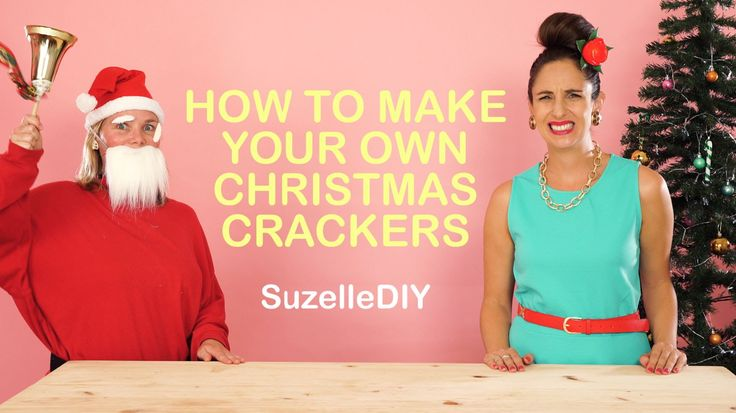 SuzelleDIY - How to Make Your Own Christmas Crackers
