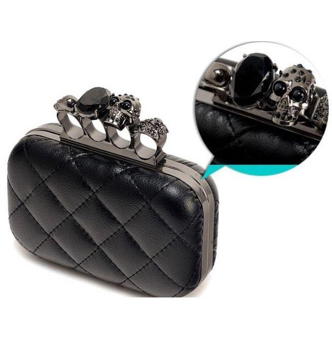 Rebelsmarket brass knuckle clutch purses and handbags 2