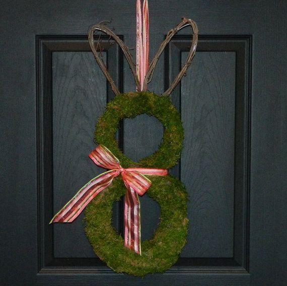 Spring Wreath  Outdoor Wreath  Easter by EverBloomingOriginal