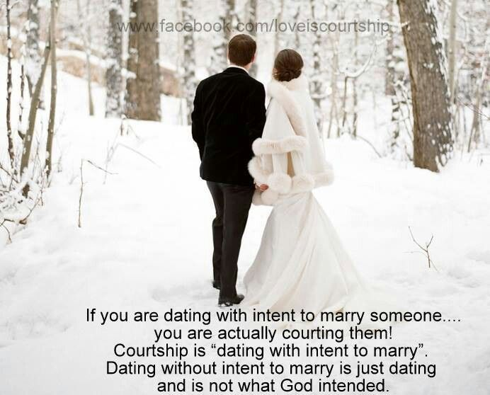 what is dating or courtship A distinction between dating and courtship is this: a person would never enter into a courtship with someone whom they would not consider marrying.