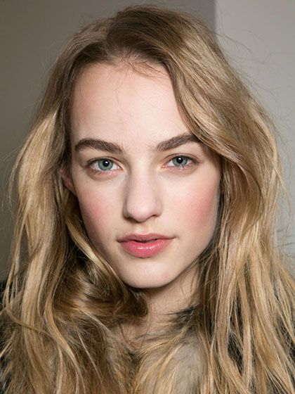 NYFW Fall 2015 - Beauty Trends - Slept-in Waves - Michael Kors
