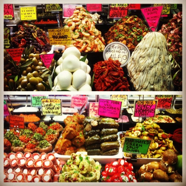 Queen Victoria Market is overflowing with deliciously fresh food. Open every day except Monday and Wednesday.