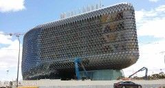 Our Giant Beehive Medical Research Centre Takes Shape « One Dusty Camel