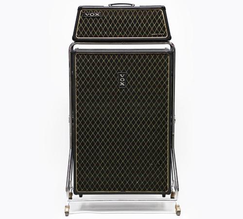 1960s vox beatle super reverb v1143 vintage electric bass guitar amp v4141 cab bass amps. Black Bedroom Furniture Sets. Home Design Ideas