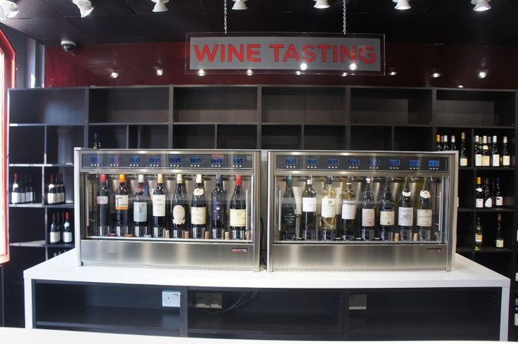 Chislehurst Wines, Kent UK WineEmotion Wine Dispenser