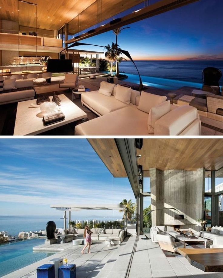 Stefan Antoni Olmesdahl Truen Architects (#SAOTA) together with OKHA Interiors have designed the De Wet 24 House in #SouthAfrica. #Modern in design this unique #house is situated around a central courtyard