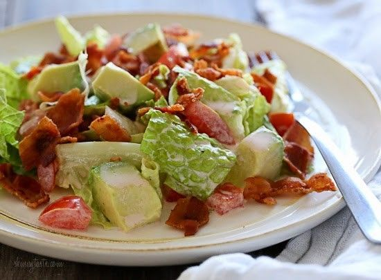 I LOVE bacon – who doesn't? And I love a BLT sandwich. This salad, featured in…